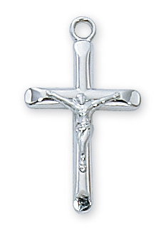 Necklace Crucifix Sterling Silver