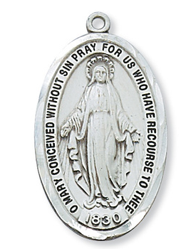 Miraculous Medal & Chain