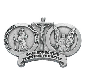 Visor Clip St. Christopher Granddaughter