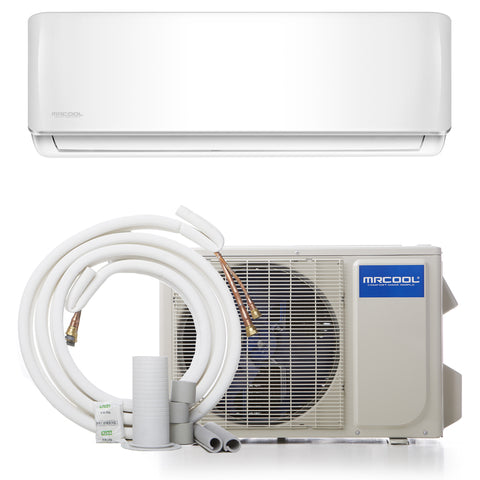 12K BTU Ductless Minisplit DIY with Heat Pump 115V 17.5 SEER
