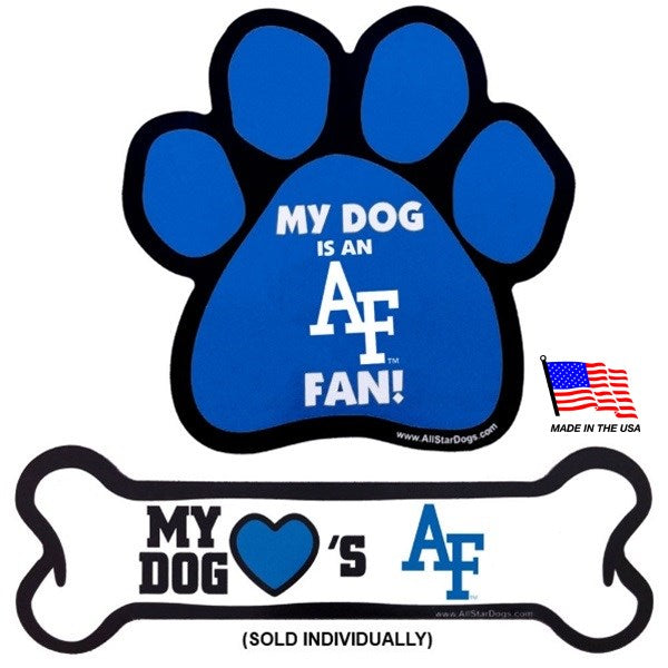 Air Force Falcons NCAA Car Magnets Pet Dog by All Star Dogs