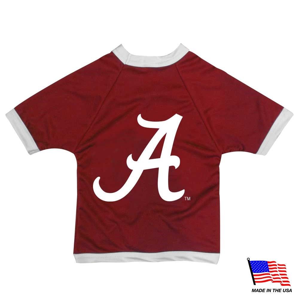Alabama Crimson Tide NCAA Athletic Mesh Pet Dog Jersey by All Star Dogs