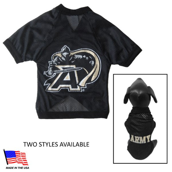 Army Black Knights NCAA Athletic Mesh Pet Dog Jersey by All Star Dogs