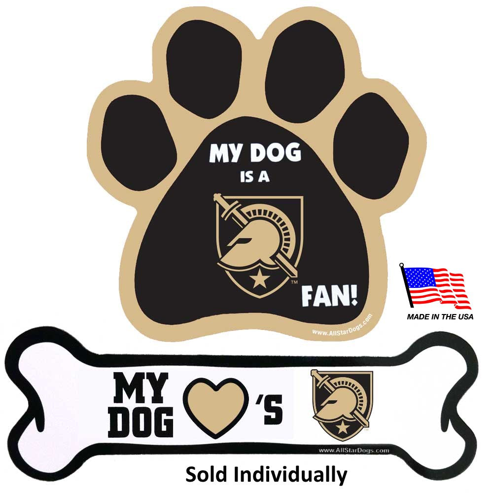 Army Black Knights NCAA Car Magnets Pet Dog by All Star Dogs