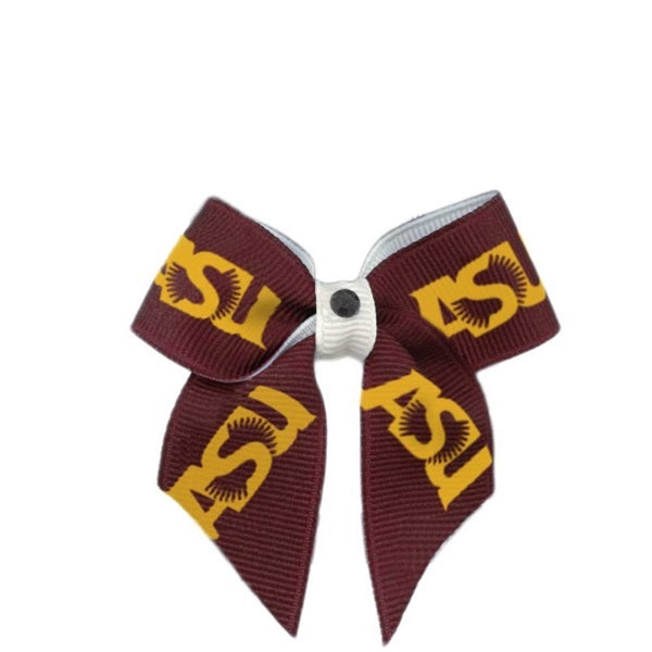 Arizona State Sun Devils NCAA Pet Dog Hair Bow by All Star Dogs