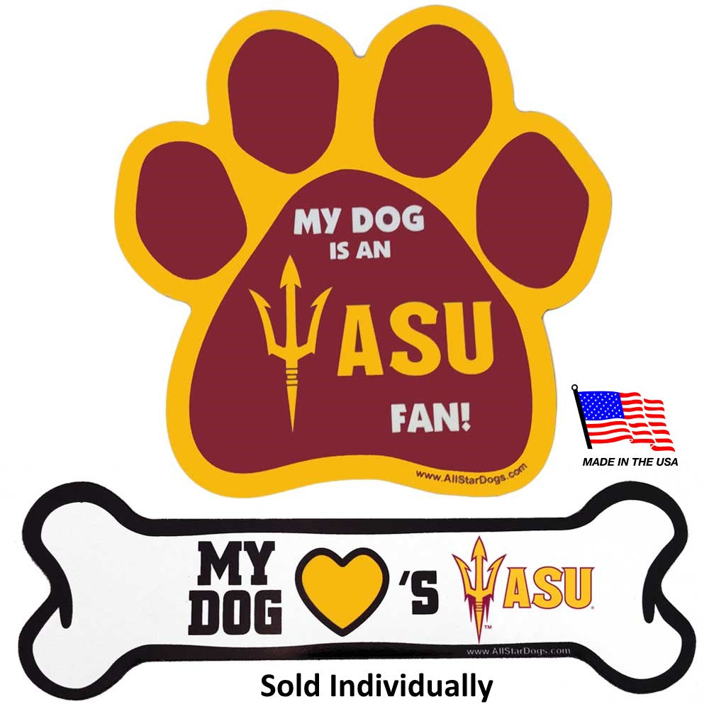 Arizona State Sun Devils NCAA Car Magnets Pet Dog by All Star Dogs