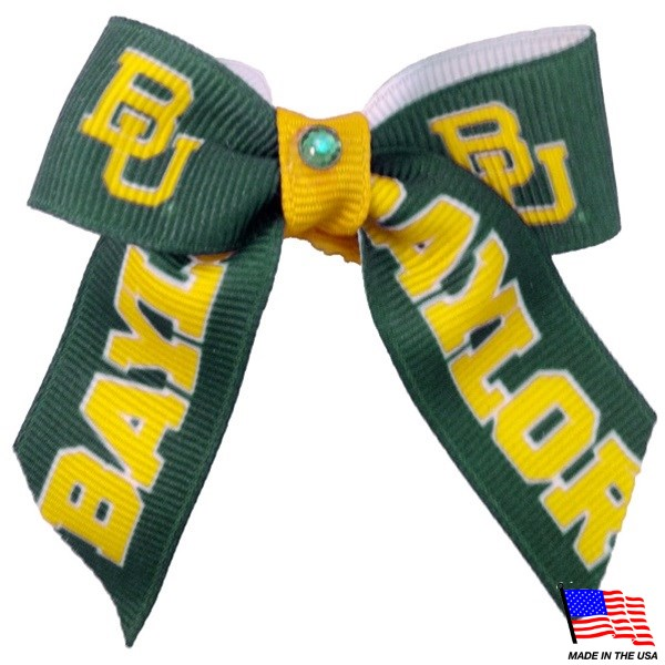 Baylor Bears NCAA Pet Dog Hair Bow by All Star Dogs