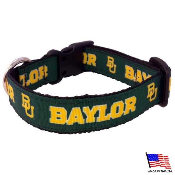 Baylor Bears NCAA Pet Dog Collar by All Star Dogs