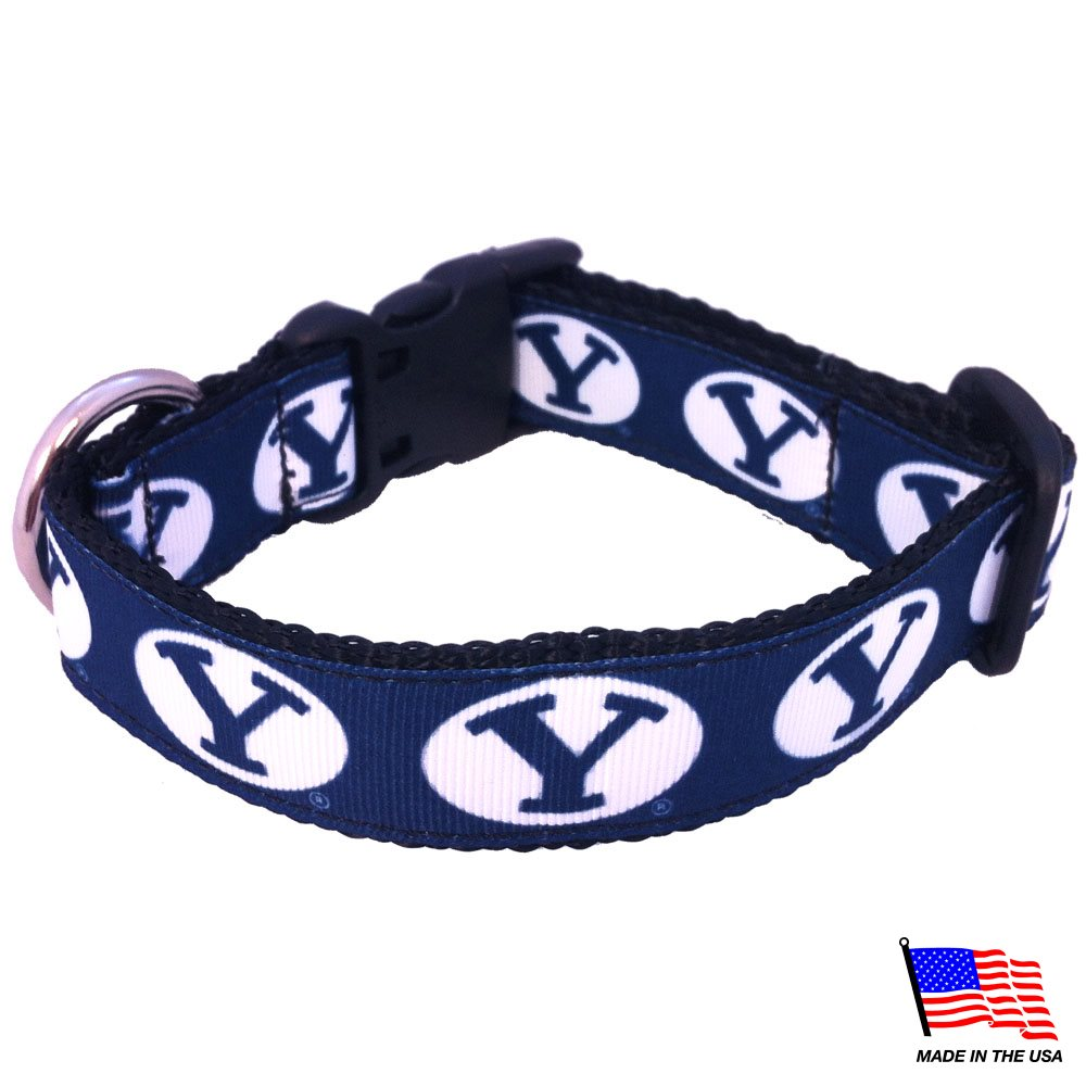 Brigham Young Cougars NCAA Pet Dog Collar by All Star Dogs