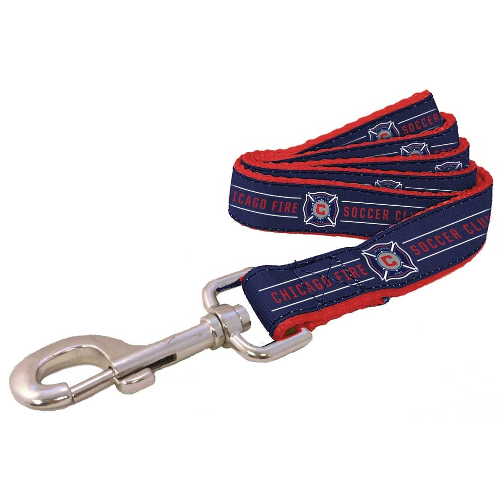 Chicago Fire MLS Pet Dog Premium Leash by All Star Dogs