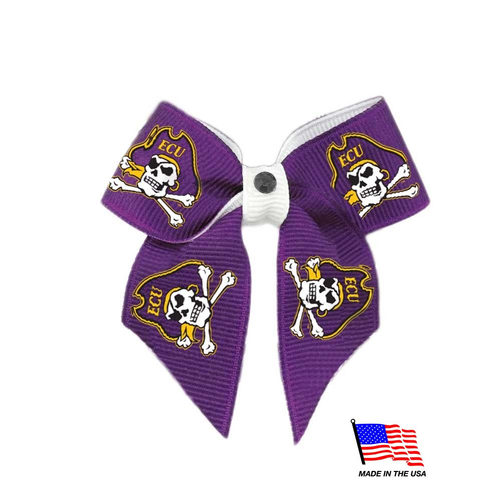 East Carolina Pirates NCAA Pirates Pet Dog Hair Bow by All Star Dogs