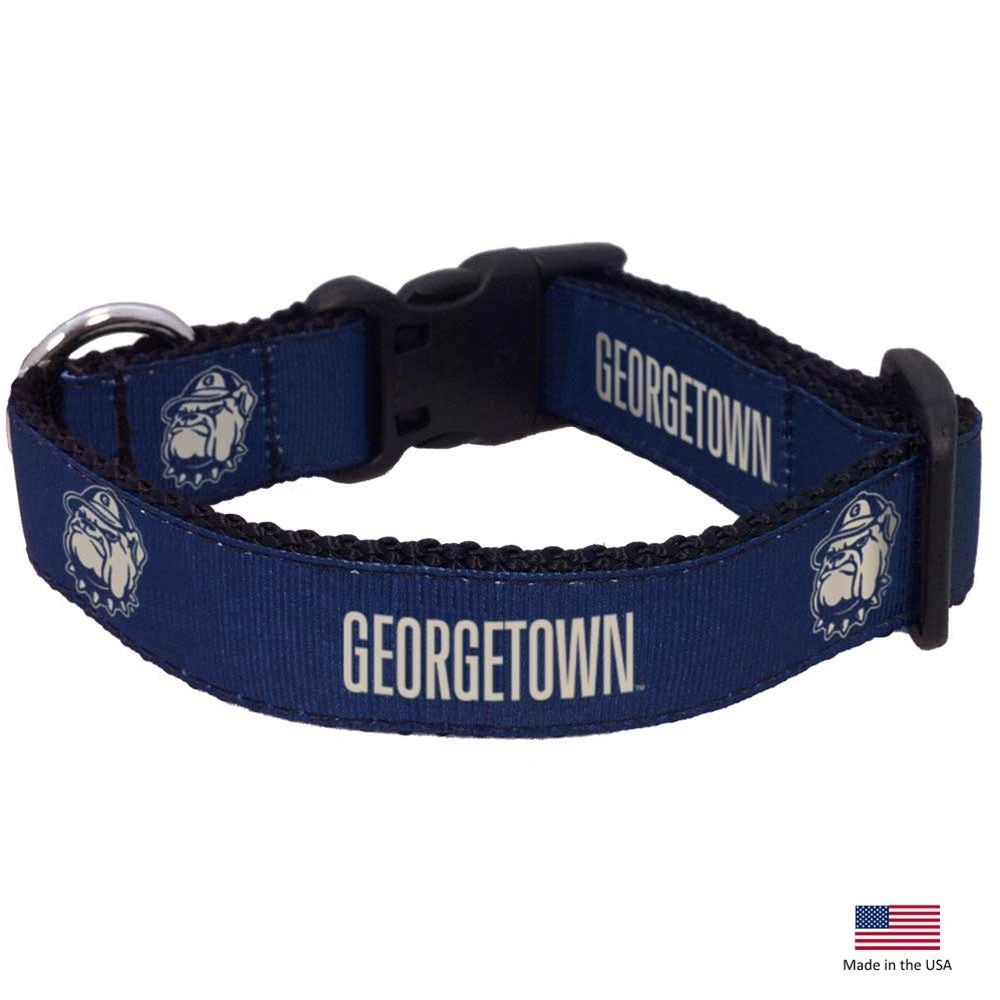 Georgetown Hoyas NCAA Pet Dog Collar by All Star Dogs