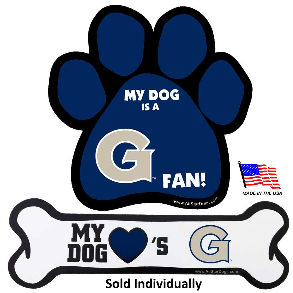 Georgetown Hoyas NCAA Car Magnets Pet Dog by All Star Dogs