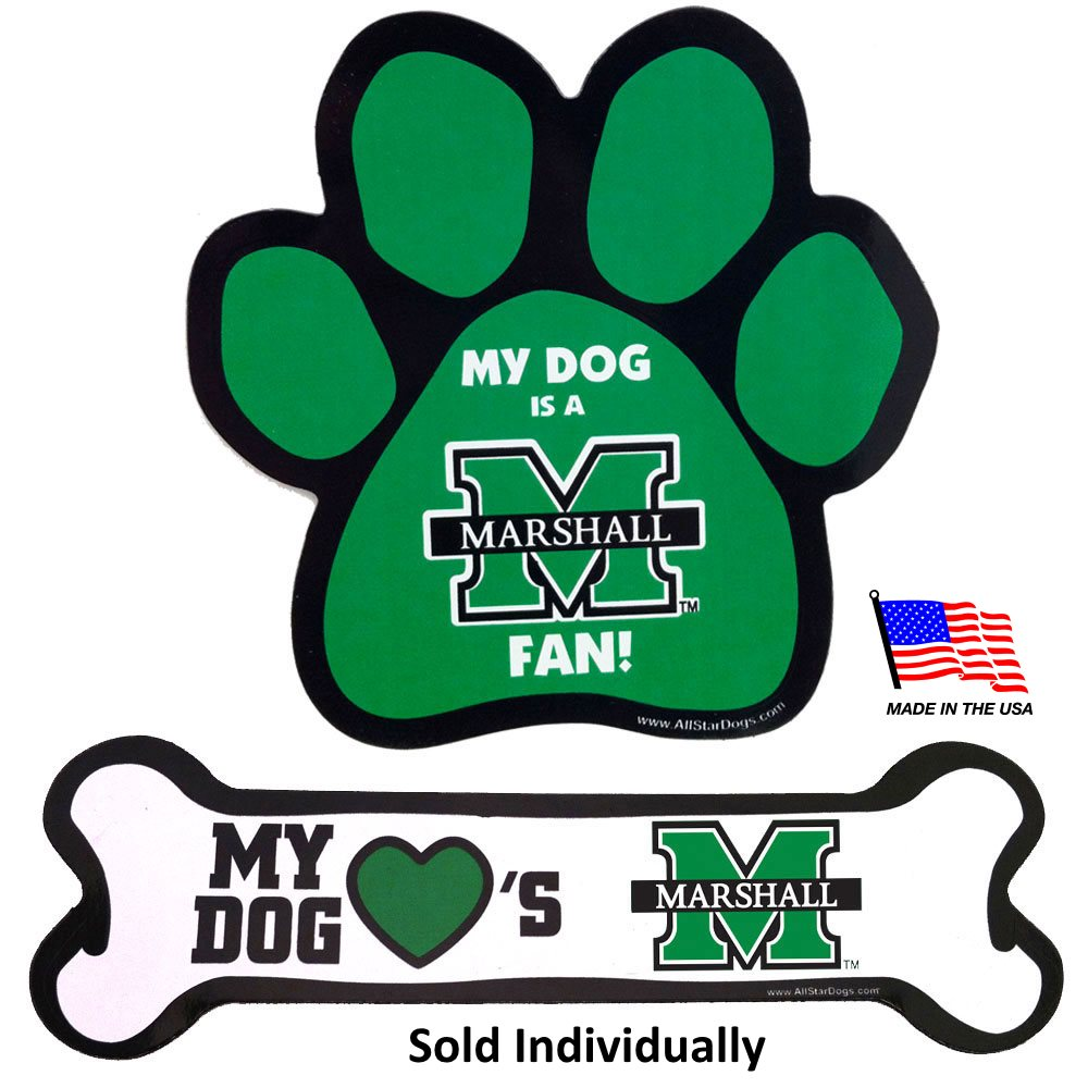 Marshall Thundering Herd NCAA Car Magnets Pet Dog by All Star Dogs