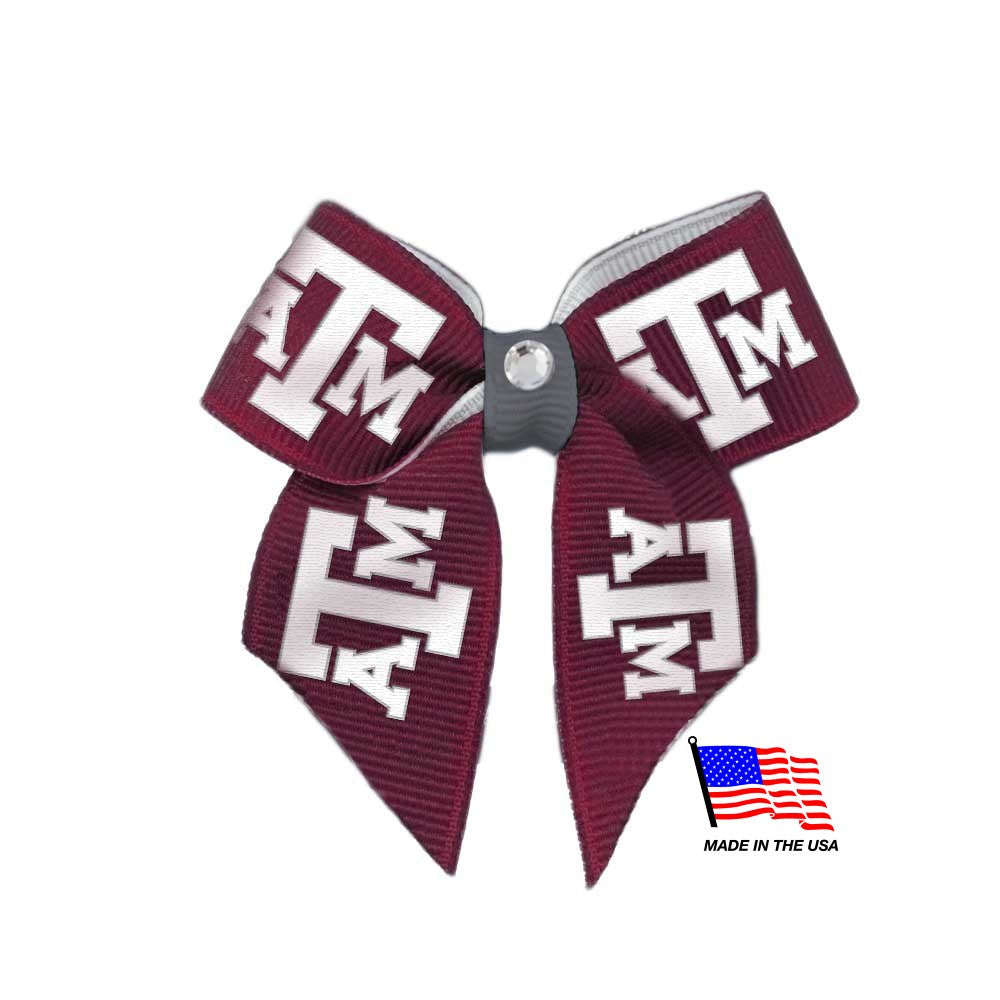Texas A&M Aggies NCAA Pet Dog Hair Bow by All Star Dogs