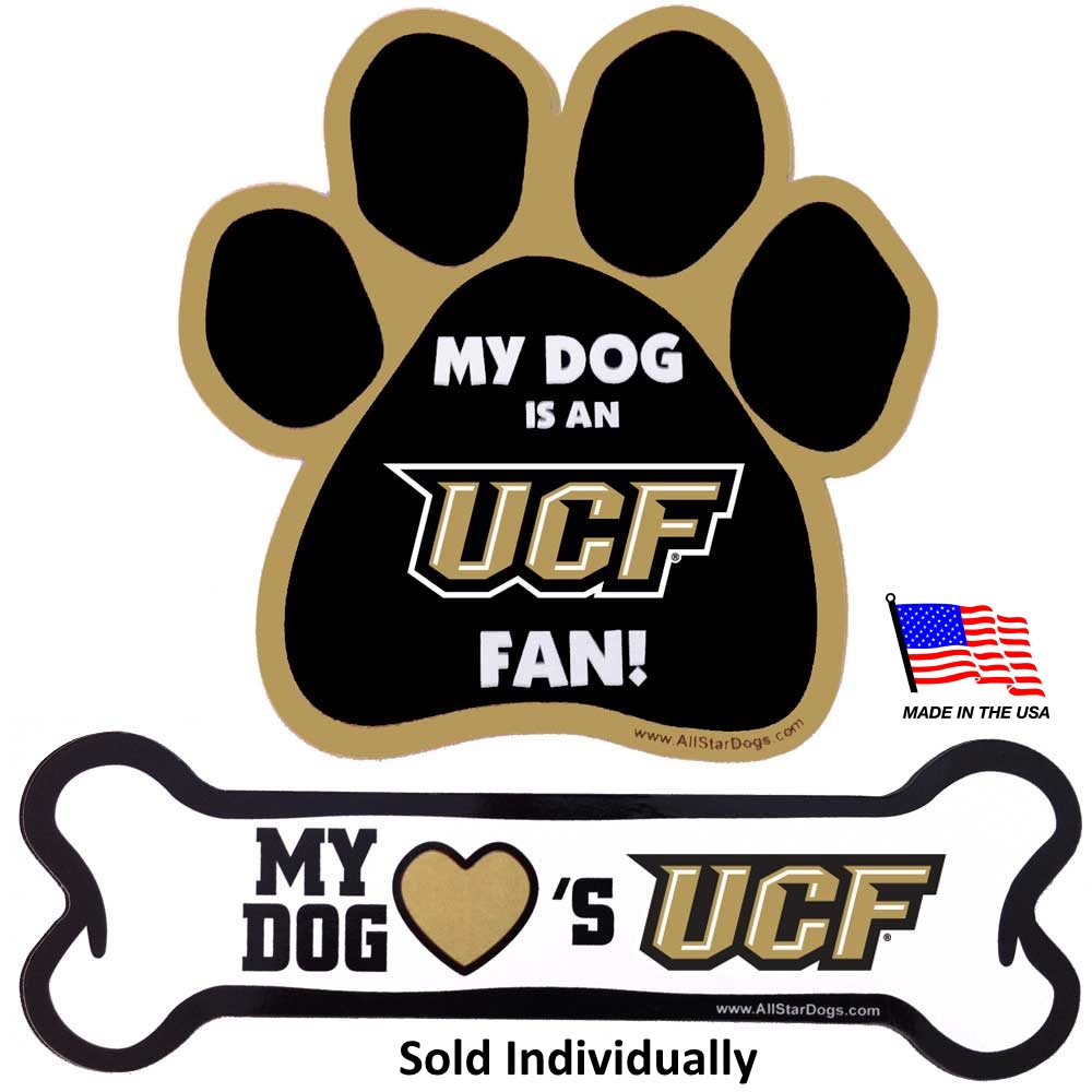 Central Florida Knights NCAA UCF Car Magnets Pet Dog by All Star Dogs