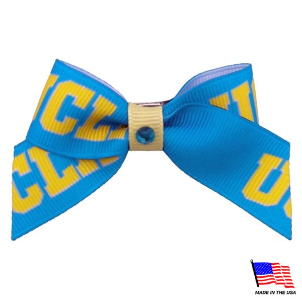 UCLA Bruins NCAA Pet Dog Hair Bow by All Star Dogs