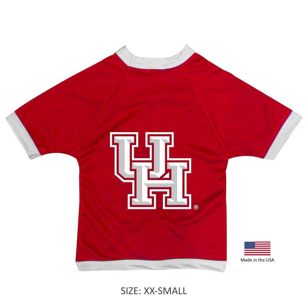Houston Cougars NCAA Athletic Mesh Pet Dog Jersey by All Star Dogs