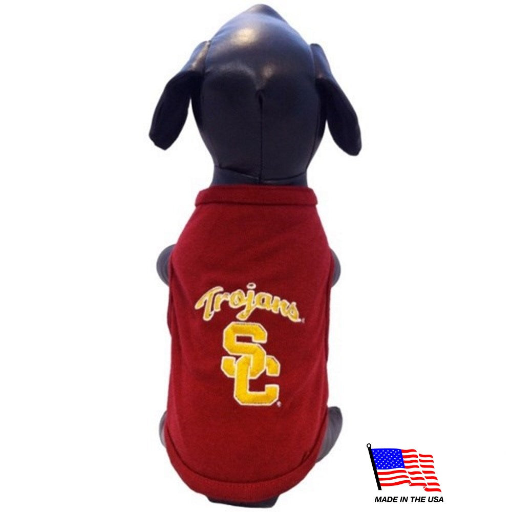 USC Trojans NCAA Pet Dog Tank by All Star Dogs