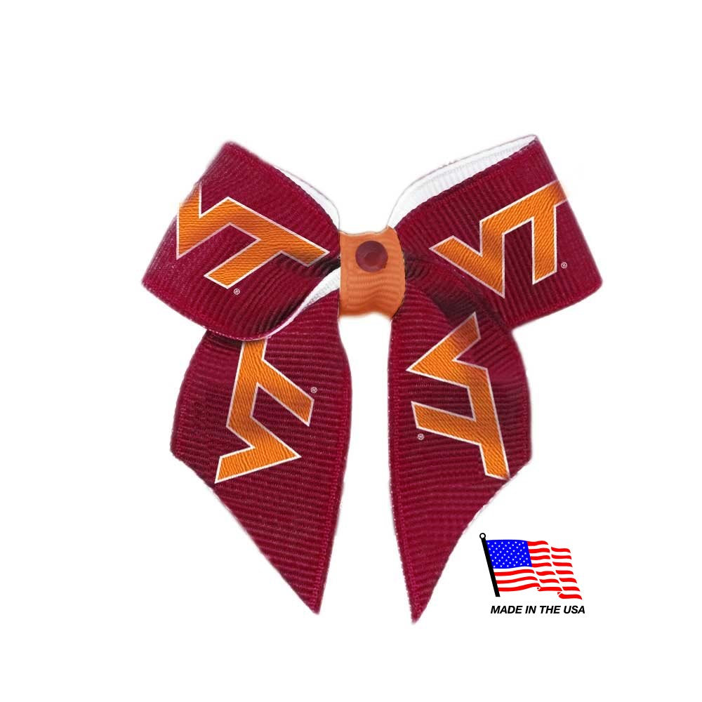 Virginia Tech Hokies NCAA Pet Dog Hair Bow by All Star Dogs