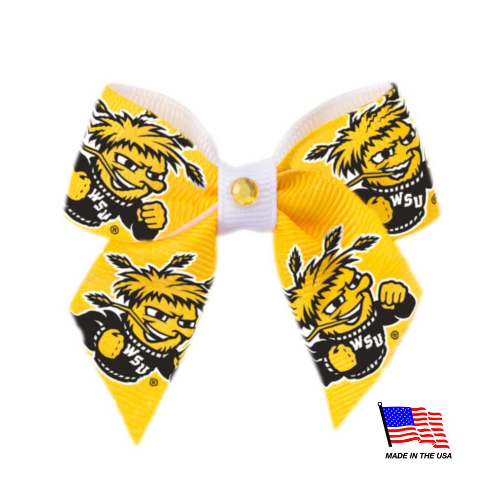 Wichita State Shockers NCAA Pet Dog Hair Bow by All Star Dogs