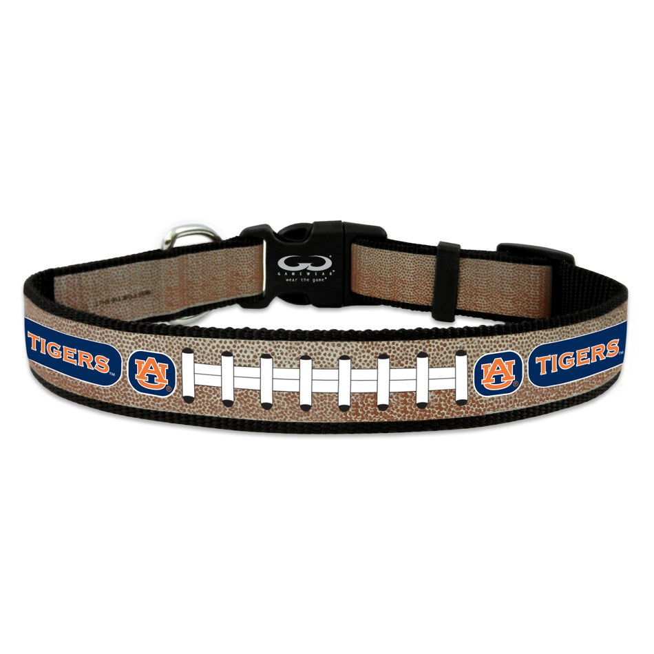 Auburn Tigers NCAA Reflective Football Pet Dog Collar by GameWear