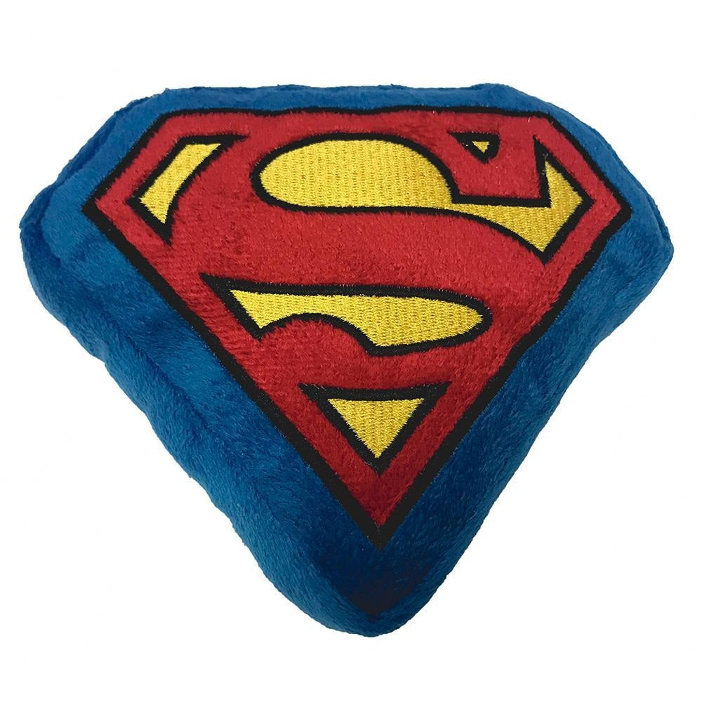 Buckle-Down Superman Pet Dog Squeaker Toy by Buckle-Down