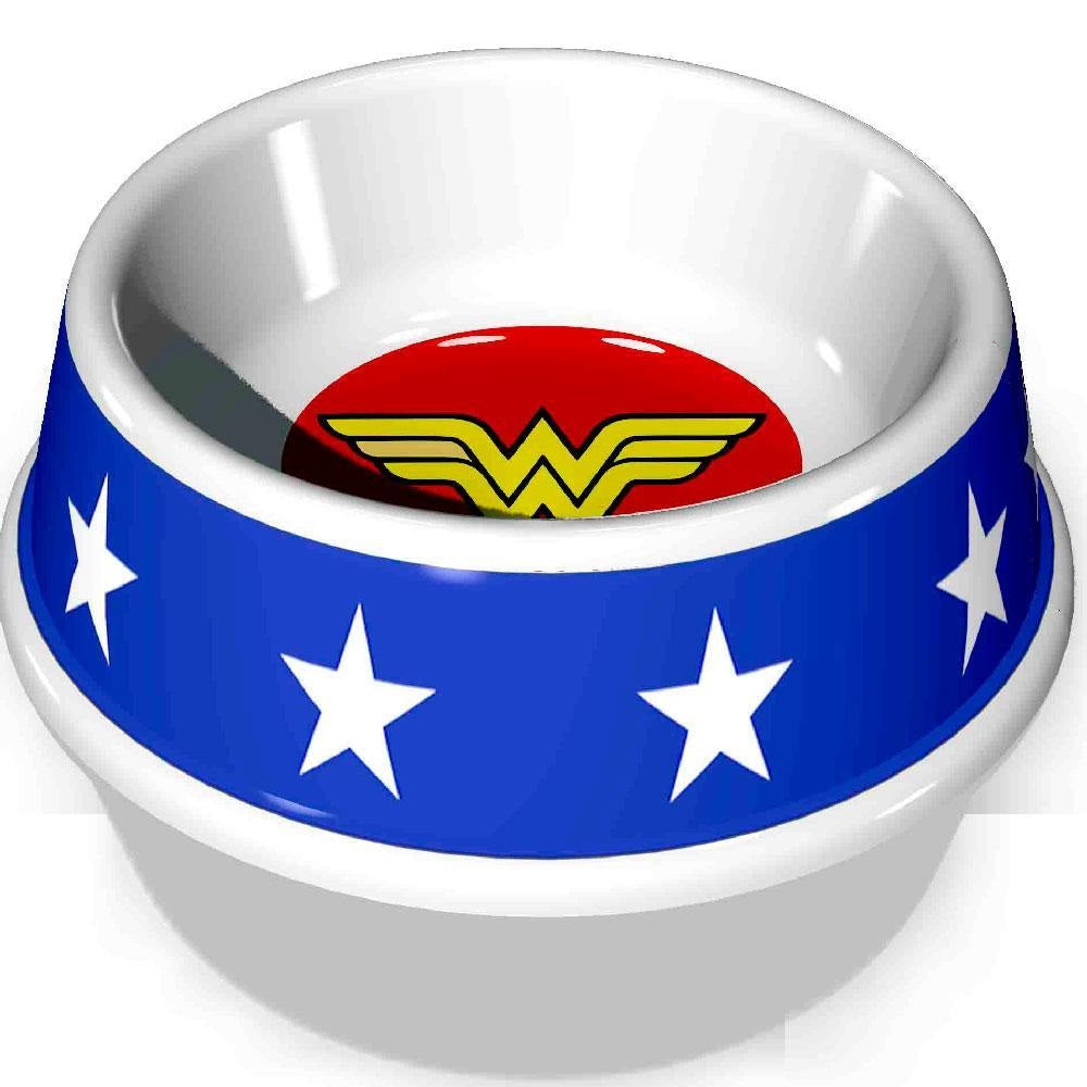 Buckle-Down Wonder Woman Pet Dog Bowl by Buckle-Down