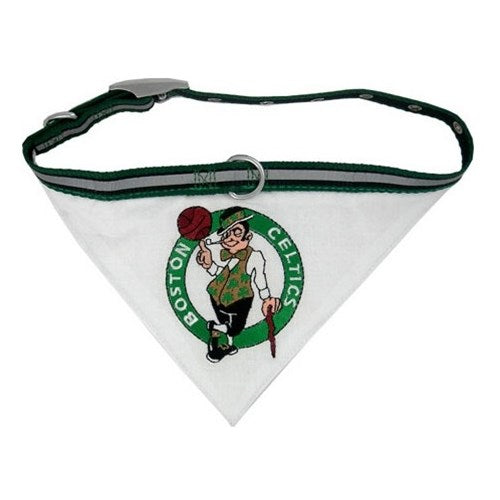 Boston Celtics Pet Dog Collar Bandana by Pets First