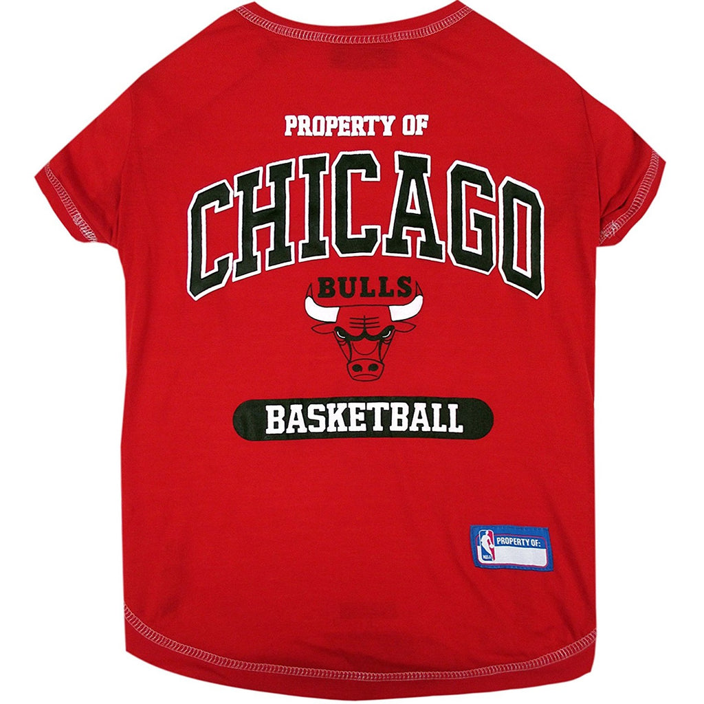 Chicago Bulls Pet Dog T-Shirt by Pets First