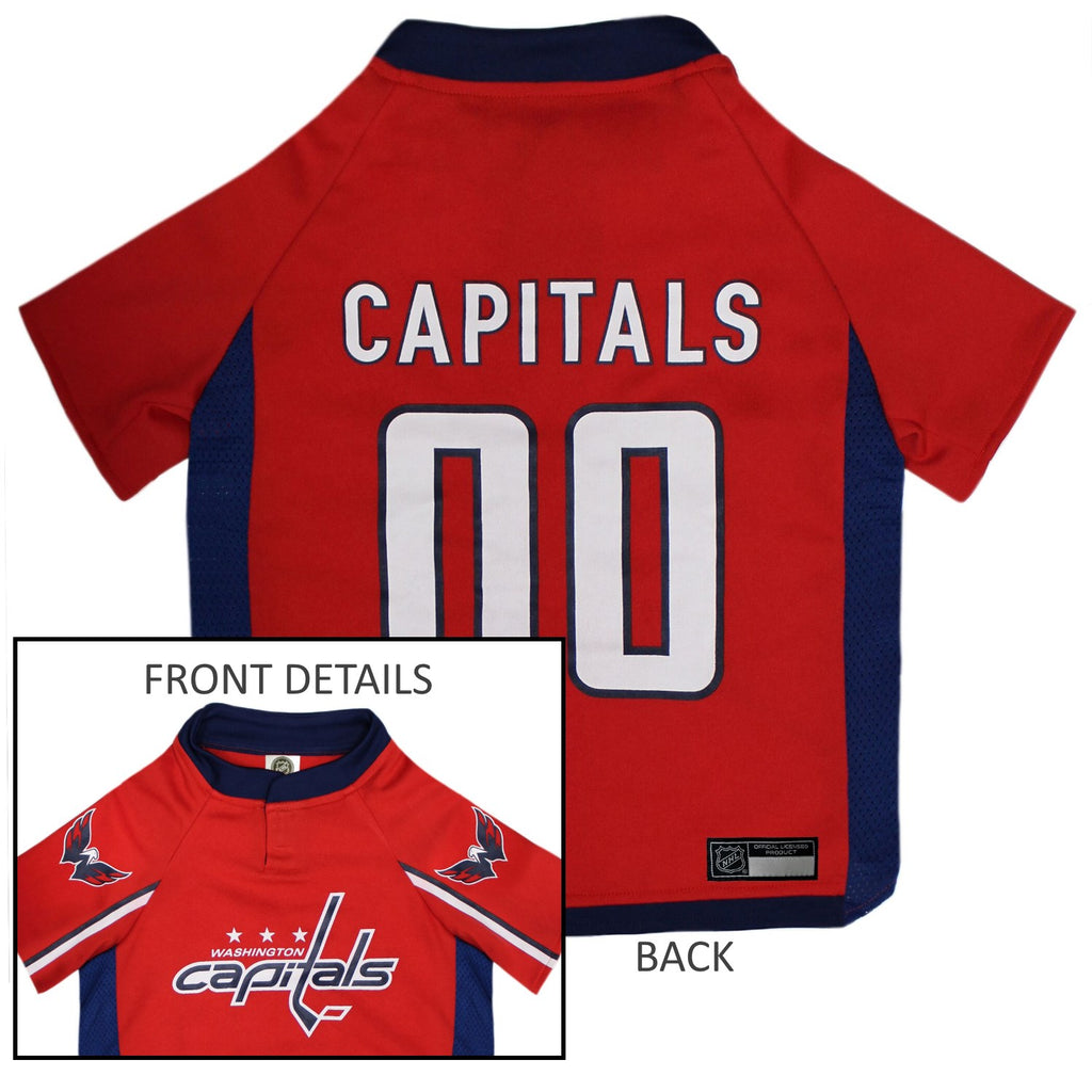 Washington Capitals Pet Dog Jersey by Pets First