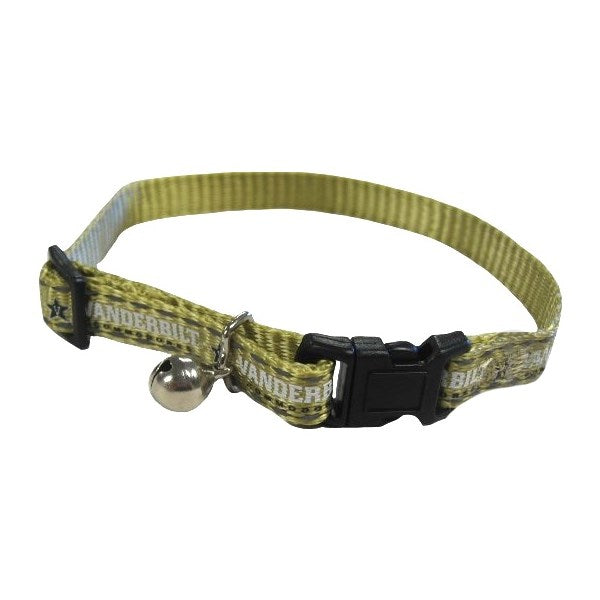 Vanderbilt Commodores Pet Cat Safety Collar by Pet Goods Manufacturing