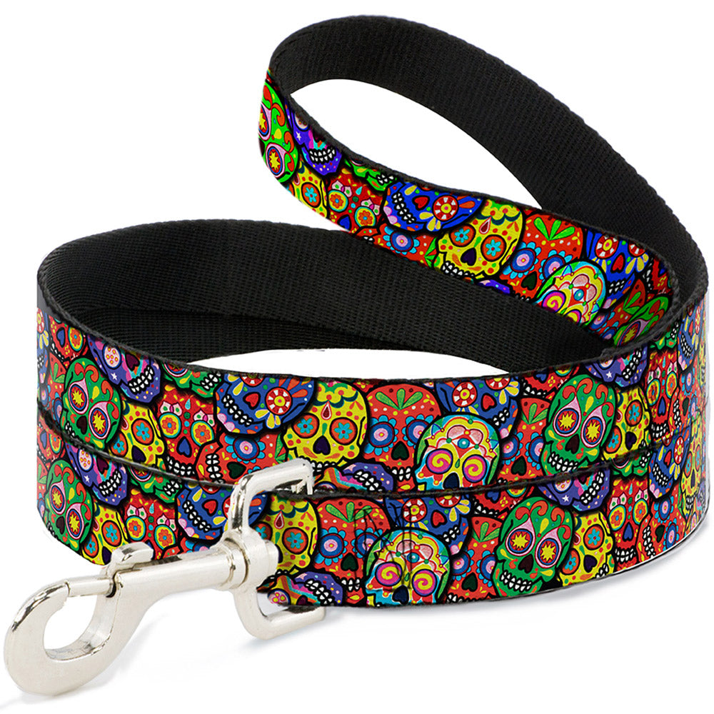 Buckle-Down Thaneeya Colorful Calaveras Pet Dog Leash by Buckle-Down
