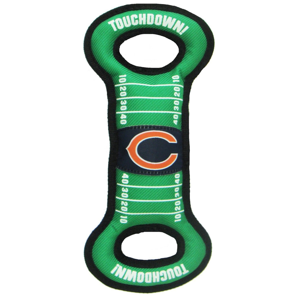 Chicago Bears Field Pull Pet Dog Toy by Pets First