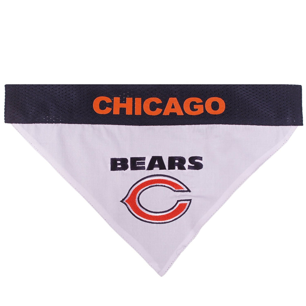 Chicago Bears Pet Dog Reversible Bandana by Pets First