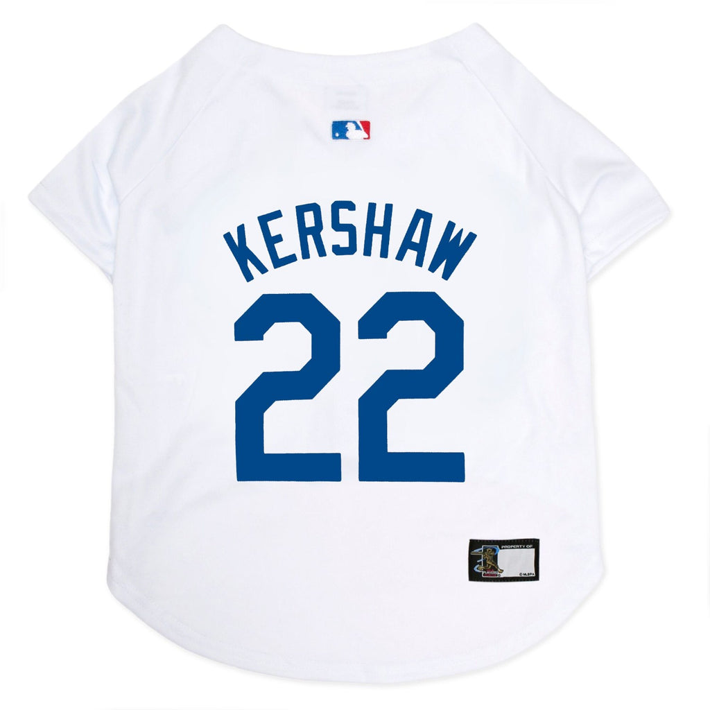 Clayton Kershaw #22 Pet Dog Jersey by Pets First