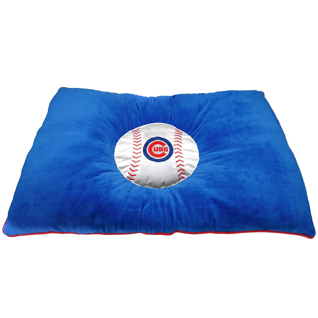 Chicago Cubs Pet Dog Pillow Bed by Pets First