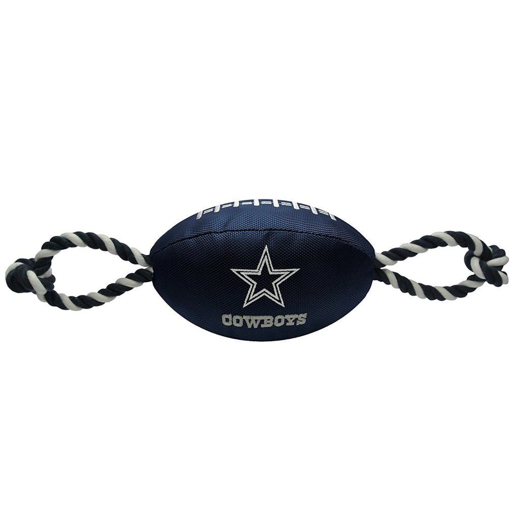 Dallas Cowboys Pet Dog Nylon Football Toy by Pets First