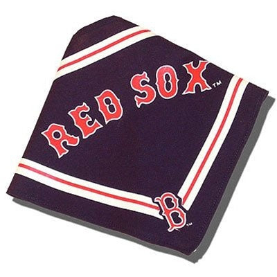 Boston Red Sox Pet Dog Bandana by SportyK9