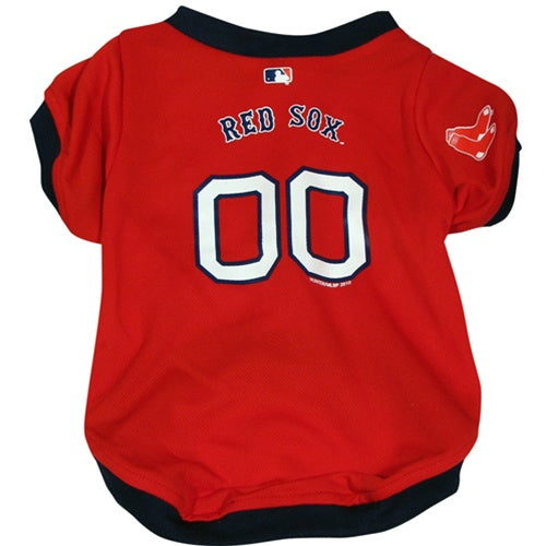 Boston Red Sox Pet Dog Jersey by Hunter