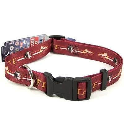 Florida State Seminoles Pet Dog Collar by Hunter