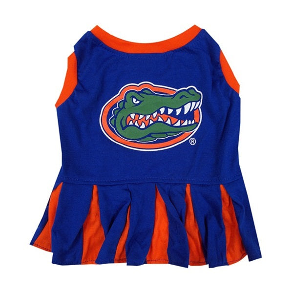 Florida Cheerleader Pet Dog Dress by Pets First