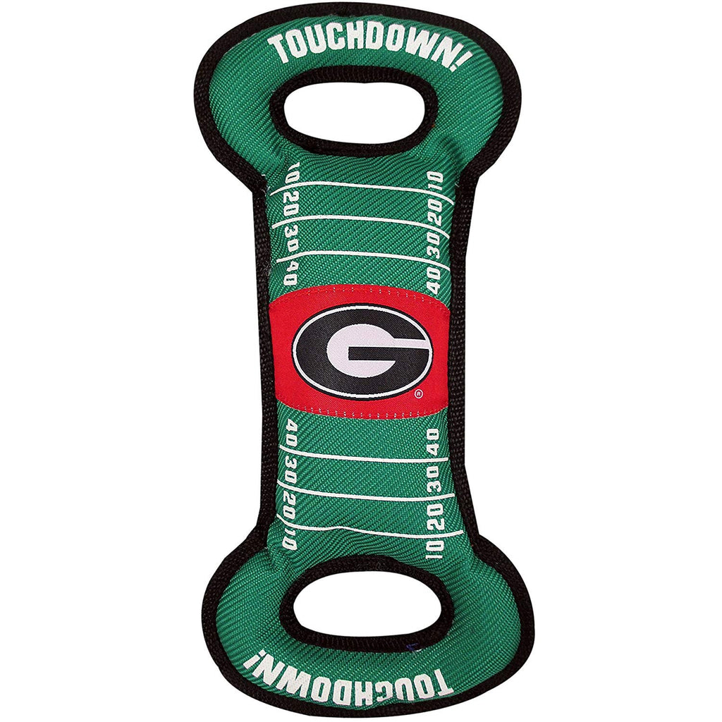 Georgia Bulldogs Field Pull Pet Dog Toy by Pets First
