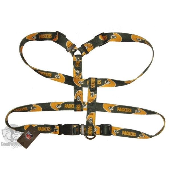 Green Bay Packers Pet Dog Harness by Hunter