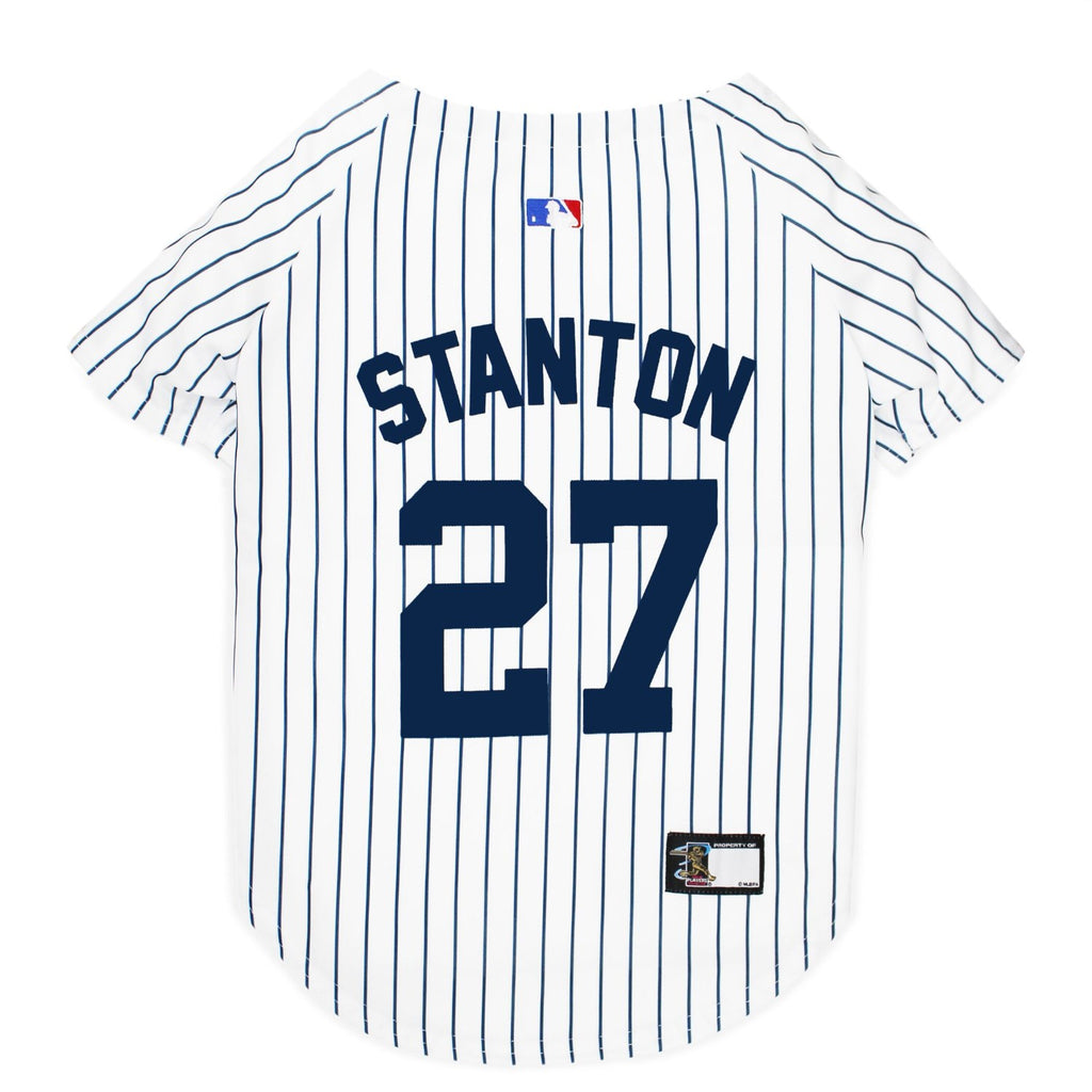 Giancarlo Stanton #27 Pet Dog Jersey by Pets First