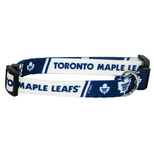 Toronto Maple Leafs Pet Dog Collar by Hunter