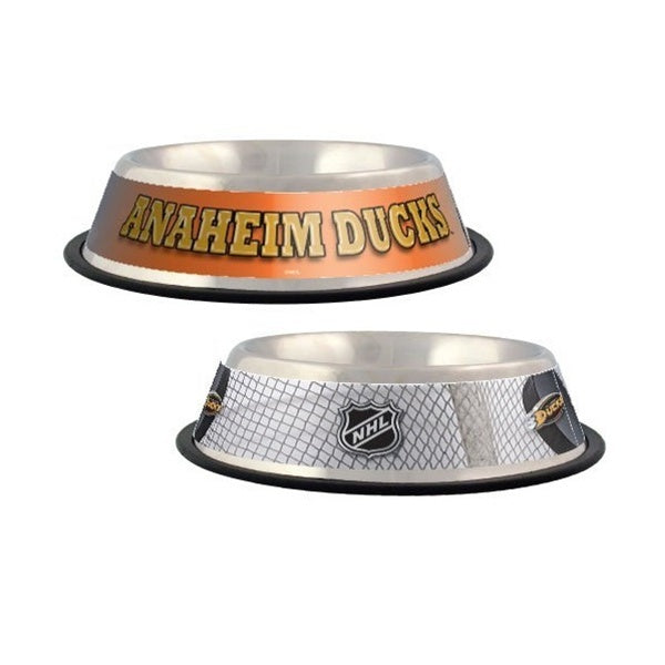 Anaheim Ducks Pet Dog Bowl by Hunter