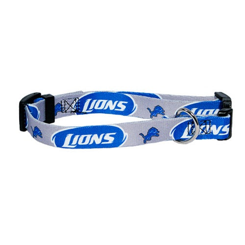 Detroit Lions Pet Dog Collar by Hunter