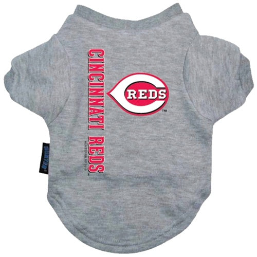 Cincinnati Reds Pet Dog Tee Shirt by Hunter