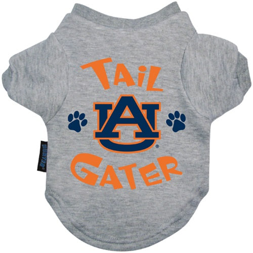 Auburn Tigers Tail Gater Pet Dog Tee Shirt by Hunter